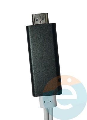 Переходник Lightning на HD TV A5-04B чёрный - фото 16366
