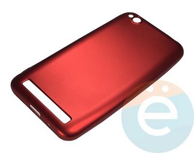 Накладка силиконовая j-Case на Xiаomi Redmi 5A красная - фото 16443