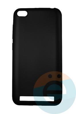 Накладка силиконовая j-Case на Xiаomi Redmi 5A чёрная - фото 16445
