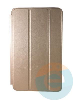 Чехол-книжка на Samsung Galaxy Tab A 8.0 SM-T385 золотистый - фото 16687