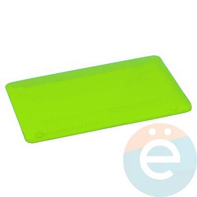 "Накладка на MacBook Air 13.3"" пластиковая салатовая - фото 16748"