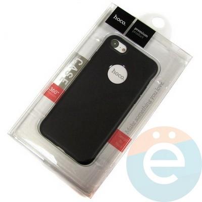 Накладка силиконовая Hoco на Apple iPhone 7/8 чёрная - фото 18866