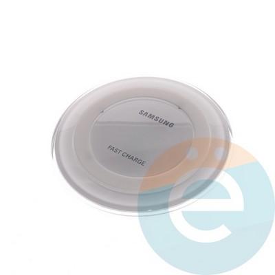 Беспроводное зарядное устройство Samsung (копия) белое - фото 5543