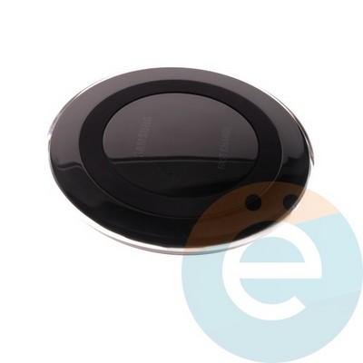 Беспроводное зарядное устройство Samsung (копия) чёрное - фото 5545