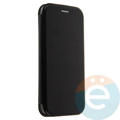 Чехол книжка боковой Fashion Case для Samsung Galaxy A5 2017 чёрный - фото 20106