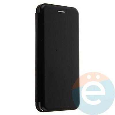 Чехол книжка боковой Fashion Case для Samsung Galaxy A8 2018 чёрный - фото 20109