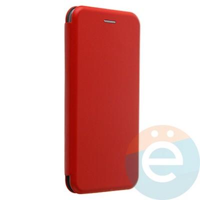 Чехол книжка боковой Fashion Case для Samsung Galaxy J4 Plus 2018 красный - фото 37913