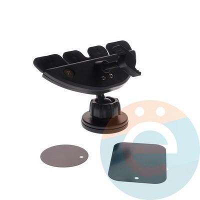 Держатель автомобильный для смартфонов магнитный в дисковод - фото 5623