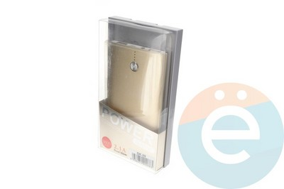 Внешний аккумулятор Konfulon GK-25 5600 mAh золотистый - фото 23420