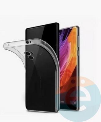 Накладка силиконовая ультра-тонкая на Xiaomi Mi 5 прозрачная - фото 25397
