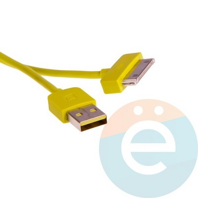 USB кабель Remax RC-06i4 для Apple iPhone 4/4s, iPad 2/3 зелёный - фото 6014