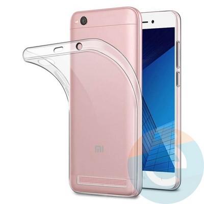 Накладка силиконовая ультратонкая на Samsung Galaxy A31 прозрачная - фото 38018