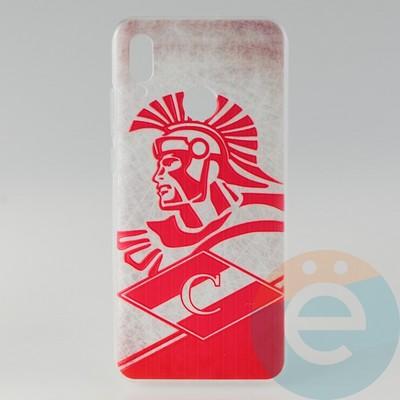Накладка силиконовая с рисунком для Huawei P-Smart 2019/Honor 10 Lite Спартак - фото 31485