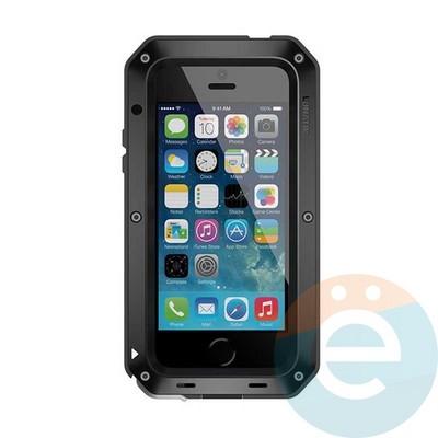 Противоударный чехол Lunatik на iPhone 6/6s Plus чёрный - фото 34370