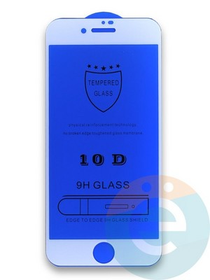 Защитное стекло 10D с полной проклейкой на Apple iPhone 7/8 белое - фото 35983
