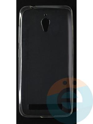 Накладка силиконовая ультратонкая на Asus Zenfone GO (ZC500TG) прозрачная - фото 42788