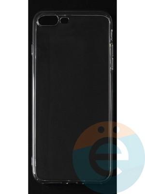Накладка силиконовая ультратонкая на Apple iPhone 7 Plus/8 Plus прозрачная - фото 42798