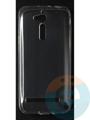Накладка силиконовая ультратонкая на Asus Zenfone GO (ZB500HG) прозрачная - фото 42801