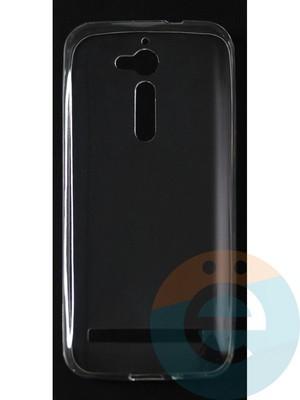 Накладка силиконовая ультратонкая на Asus Zenfone GO (ZB500KL) прозрачная - фото 42802