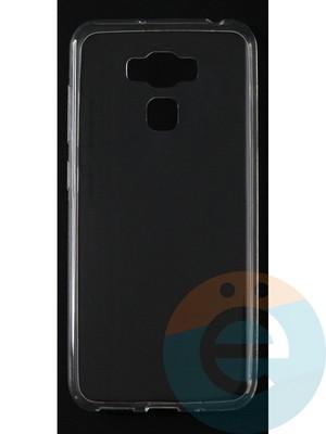 Накладка силиконовая ультратонкая на Asus Zenfone Max (ZC553 KL) прозрачная - фото 42804