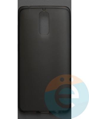Накладка силиконовая ультратонкая на Huawei Mate 9 Pro тёмно-прозрачная - фото 42807