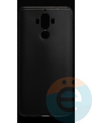 Накладка силиконовая ультратонкая на Huawei Mate 9 прозрачная - фото 42812