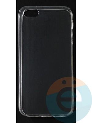 Накладка силиконовая ультратонкая на Apple iPhone 5/5s/SE (0.15мм) прозрачная - фото 42816