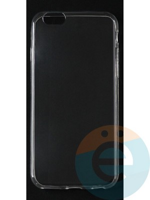 Накладка силиконовая ультратонкая на Apple iPhone 6/6s (0.15мм) прозрачная - фото 42817