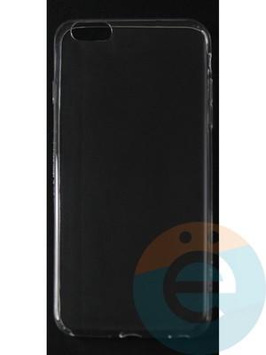 Накладка силиконовая ультратонкая на Apple iPhone 6 Plus/6s Plus (0.15мм) прозрачная - фото 42819