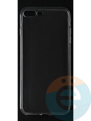 Накладка силиконовая ультратонкая на Apple iPhone 7 Plus/8 Plus (0.15мм) прозрачная - фото 42820