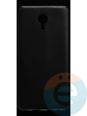 Накладка силиконовая ультратонкая на Meizu Max прозрачная - фото 42821