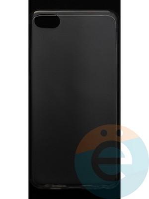 Накладка силиконовая ультратонкая на Meizu U10 прозрачная - фото 42835