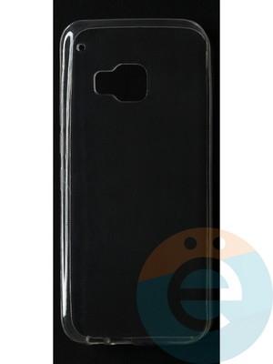 Накладка силиконовая ультратонкая на HTC M9 прозрачная - фото 42854