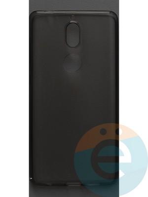 Накладка силиконовая ультратонкая на Nokia 7 тёмно-прозрачная - фото 42861