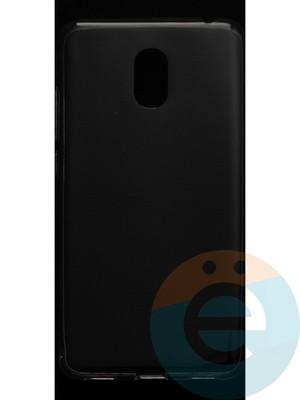 Накладка силиконовая ультратонкая на Meizu M6 прозрачная - фото 42864