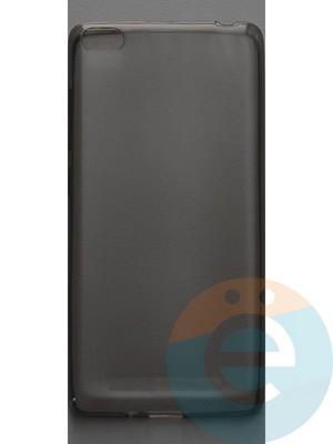 Накладка силиконовая ультратонкая на Xiaomi Redmi 3 тёмно-прозрачная - фото 44372