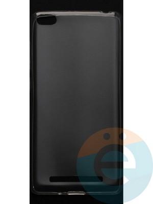 Накладка силиконовая ультратонкая на Xiaomi Redmi 3 прозрачная - фото 44373
