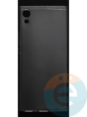 Накладка силиконовая ультратонкая на Sony XA1 прозрачная - фото 44378
