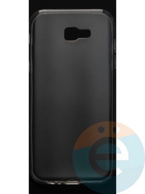 Накладка силиконовая ультратонкая на Samsung Galaxy A7 (2017) SM-A720 прозрачная - фото 44393