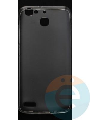 Накладка силиконовая ультратонкая на Huawei G8 mini прозрачная - фото 44395