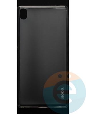 Накладка силиконовая ультратонкая на Sony C6 прозрачная - фото 44399