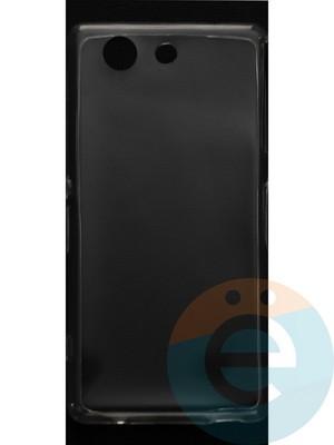 Накладка силиконовая ультратонкая на Sony Xperia Z4 Compact прозрачная - фото 44401