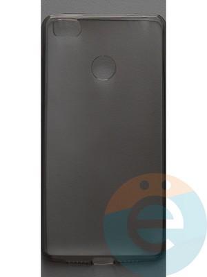 Накладка силиконовая ультратонкая на Xiaomi Mi 4s тёмно-прозрачная - фото 44402