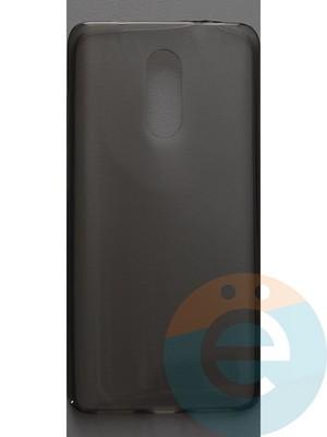 Накладка силиконовая ультратонкая на Xiaomi Redmi Pro тёмно-прозрачная - фото 44405