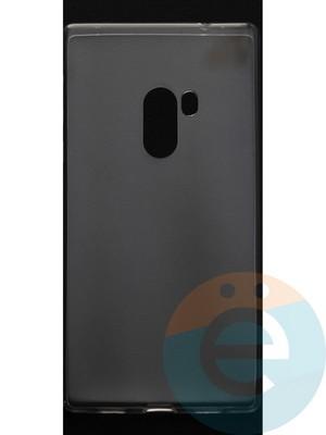 Накладка силиконовая ультратонкая на Xiaomi Mi MiX прозрачная - фото 44415