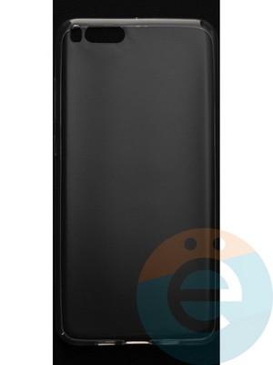 Накладка силиконовая ультратонкая на Xiaomi Mi Note3 прозрачная - фото 44446