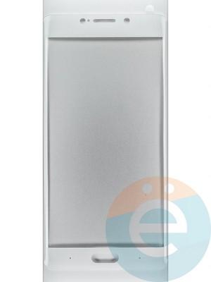 Защитное стекло 2D полноэкранное на Xiaomi Mi Note 2 белое - фото 44890