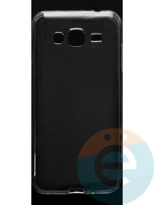 Накладка силиконовая ультратонкая на Samsung Galaxy J3 SM-J310 (2015) прозрачная - фото 44894