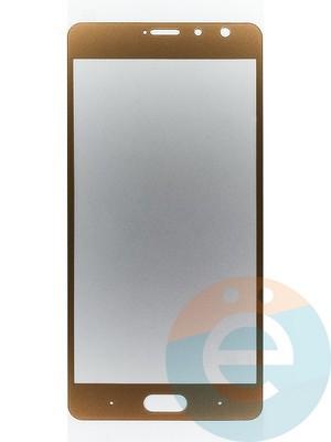 Защитное стекло 2D полноэкранное на Xiaomi Redmi Pro золотистое - фото 44916
