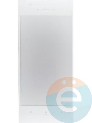 Защитное стекло 2D полноэкранное на Xiaomi Redmi 5A белое - фото 44971